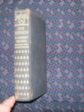 Don Fernando by W. Somerwset Maugham 1935 hardcover, 1st edition