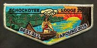 EHOCKOTEE OA LODGE 200 NORTH FLORIDA COUNCIL FL 2018 BEST ALL AROUND LODGE FLAP