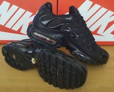 Nike Air Max Plus TN Triple Black BNIB UK 9