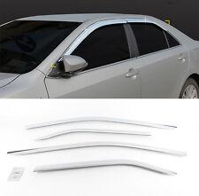 Chrome Wind Rain Guard Window Sun Visor Vent 4p For 2012-2014 TOYOTA Camry
