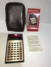 VTG Texas Instruments TI-30 Scientific Calculator w/ Case & Manual