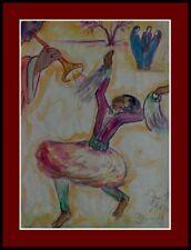 """Wandbild""""Im Louvre Paris Thea Schleusner 1879-1964-Tänzerin auf Ceylon 1939xxx"""