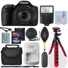 Canon PowerShot Sx540 Hs 20.3Mp Digital Camera + 32Gb Deluxe Accessory Package