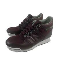 New Balance Rainier GoreTex Hiking Boots HLRAINCC Maroon Mens Size 9.5