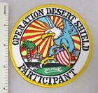 OPERATION DESERT SHIELD PARTICIPANT PATCH GULF WAR Vintage
