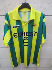 Maillot F.C NANTES 1993 vintage DIADORA shirt ancien football collection maglia