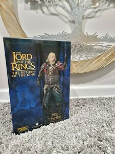 Lord of the rings King Théoden statue Sideshow Weta Lotr/Hobbit