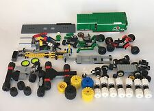 Vintage Lego Lot of  Space Wheels & Racing Loose Pieces & Parts As Is.