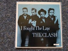 The Clash - I fought the law 7'' EP Single HOLLAND