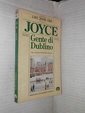 GENTE DI DUBLINO James Joyce Marina Emo Capodilista Newton 1994 romanzo libro di