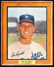 1960 Post Cereal (Grape Nuts Flakes) Don Drysdale - Los Angeles Dodgers