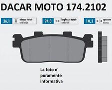 174.2102 PASTILLA DE FRENO ORIGINAL POLINI KYMCO : GENTE 125 GTi 4V (BF25)
