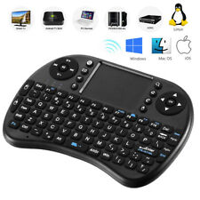 2.4G Mini Wireless Clavier Qwerty USB Touchpad Fly Air Mouse For Android TV Box