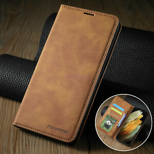 Luxury Retro Flip Leather Wallet Case Cover For Samsung Galaxy S21 S21+ Ultra 5G
