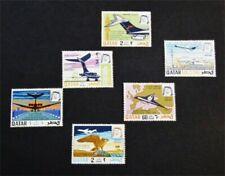 nystamps British Qatar Stamp # 206-211 Mint Og Nh $35 J15y3220