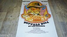 BUFFALO BILL et les indiens ! paul newman   affiche cinema western