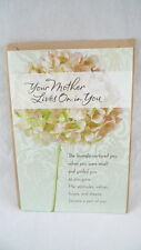 Sympathy Card LOSS OF MOTHER Your Mother Lives On In You