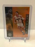 2019-20 Panini Illusions - Nikola Vucevic #40 ORANGE Parallel - Orlando Magic