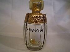 Flacon eau de parfum Champagne d'Yves Saint Laurent vapo