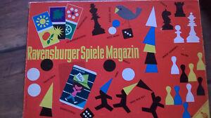 Ravensburger Spiele Magazin 1961 12.007