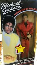 """Michael Jackson-1984 Thriller Stage Outfit 12"""" Tall Action figure/ Doll LJN Toys"""