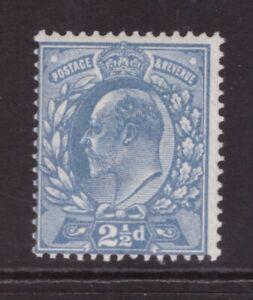 King Edward VII 2½d   MINT NEVER HINGED MNH