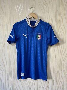 ITALY 2012 2013 HOME FOOTBALL SHIRT SOCCER JERSEY PUMA 740355