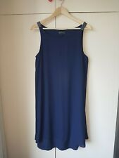 Next Maternity Blue Sleeveless Dress, Size 14. Formal, Smart, Party, Occasion