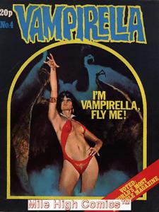VAMPIRELLA  (MAGAZINE) (U.K.) (1972 Series) #4 Very Good