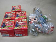 MEDICOS Neo KINNIKUMAN Trading Figure Gashapon Part 1 Set of 5 - RARE