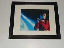 "Framed Morrissey The Smiths 2015 On Stage Photo Print 14""x17"""