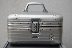 RIMOWA Lufthansa TOPAS Aluminium silver Beauty Case Original Zahlenschloss