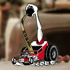 Hurst Hotrod Aufkleber Sticker Hot Rod Shifter Rat Old School Autocollante