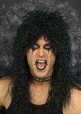 Mens Gothic Black Rock Star Wig