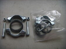 VW Stock Tail Pipe Install Kit Clamp (2) pair, Beetle, Ghia, Bus, Muffler Clamps