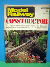 MODEL RAILWAY CONSTRUCTOR MAY 1978 # BIRMINGHAM NEW STREET GARDEN Rly > SEE PICS