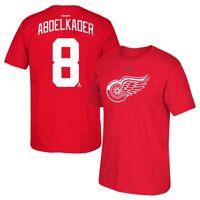 Justin Abdelkader Reebok Detroit Red Wings Player Premier Red Jersey T-Shirt Men