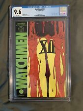 CGC 9.6 WATCHMEN #12 ALAN MOORE LAST ISSUE 1987 WHITE PAGES