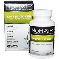 NuHair DHT Blocker for Men & Women 60 Tabs Nu Hair NIB Combat Hair Loss Natural