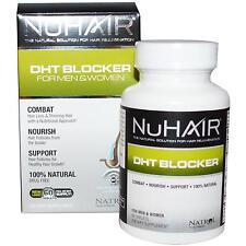 NuHair DHT Blocker for Men & Women 60 Tabs Nu Hair NIB Combat Hair Loss Natural