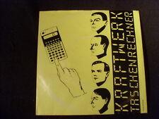 """7"""" Sgl.45U/m - KRAFTWERK -Taschenrechner + Dentaka - Kling Klang EMI(1981GER)"""