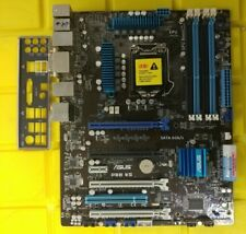 ASUS Mainboard P8B WS LGA1155 Intel C206 4x PCIE x16 + I/O Shield Tested/Working
