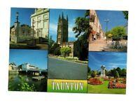 Somerset - Taunton - Multiview Postcard