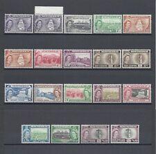 MONTSERRAT 1953-62 SG 136A/49 + Varieties MNH Cat £107