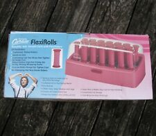 NOS Vintage Richard Caruso Flexirolls Hot Roller Set 20 Curlers with Clips