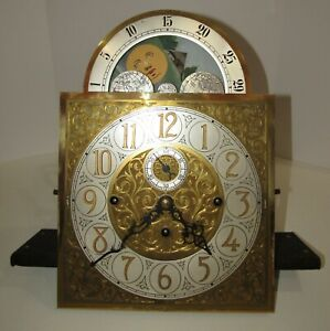Winterhalder Tubular 5 Tube Grandfather Clock Movement With Dial made in Germany