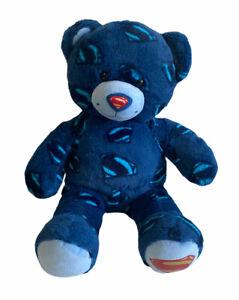 Build a Bear Man of Steel Superman Blue Plush Soft Toy