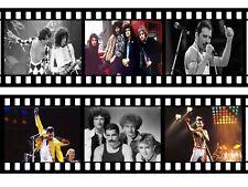 Queen Freddie Mercury Film Roll A4 Icing Sheet Edible Cake Topper / Cake Border