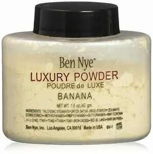 Ben Nye Banana Powder 1.5OZ  Bottle Face Makeup Luxury Beige Powder FREE-SHIP