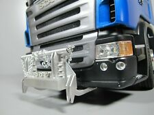 Aluminum Chain Animal Bumper Guard Tamiya 1/14 Scania R620 R470 Volvo Actros Man